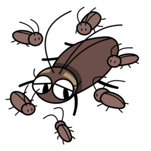 ゴキブリ羽化