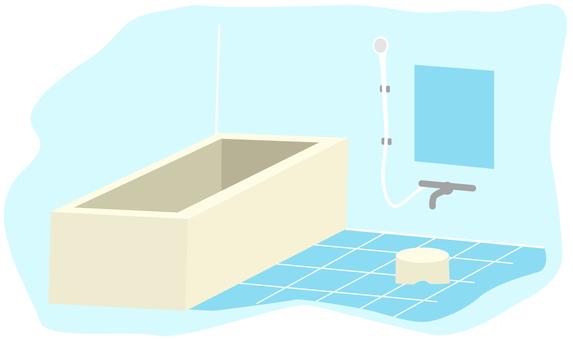 お風呂場を綺麗にしましょう