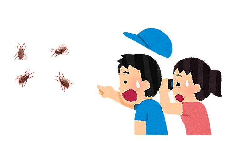 お客さんがゴキブリを発見したら