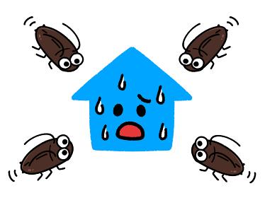ゴキブリによる被害