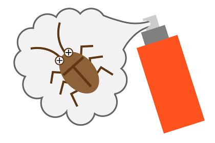 殺虫剤でゴキブリ駆除