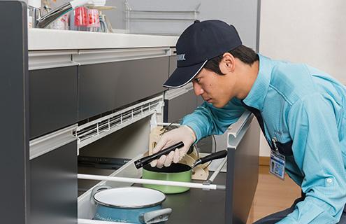 家庭用ゴキブリ駆除 効果の確認