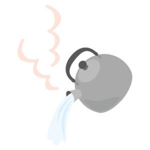 ゴキブリ退治には熱湯が有効
