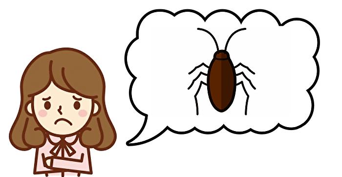 ゴキブリの悩み
