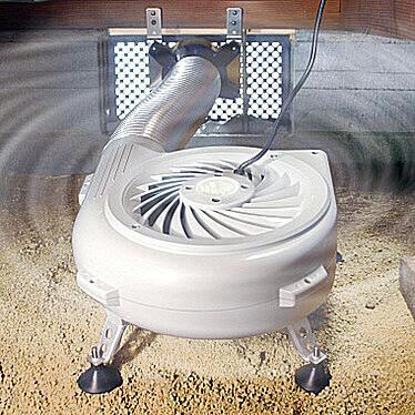 家屋床下湿気管理システム